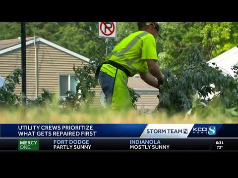 Derecho Impact: Iowa begins third day of cleanup after storm