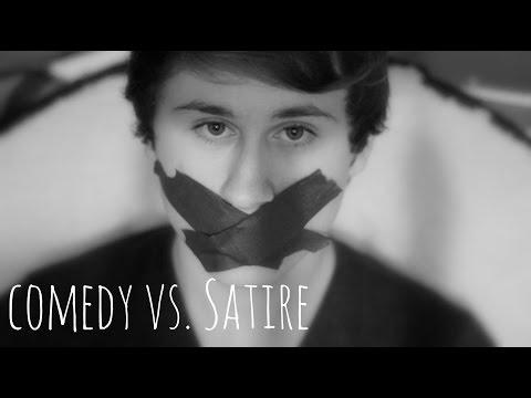 Comedy vs. Satire