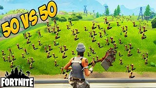 NEW GAME-MODE 50 V 50! Fortnite Funny Fails and WTF Moments! #38 (Daily Best Moments)