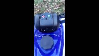 7. My Yamaha Raptor 90 with Kickstarter
