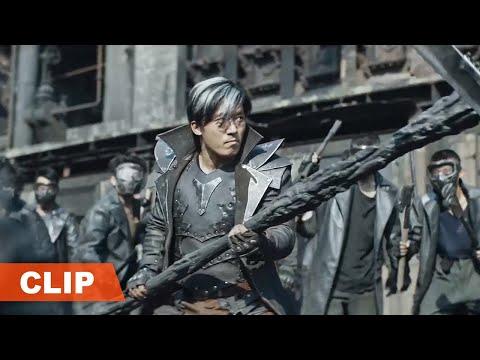 【铁甲狂猴之决战黎明 Iron Monkey2】最精彩的打戏cut:雷霆一人对抗百人军团