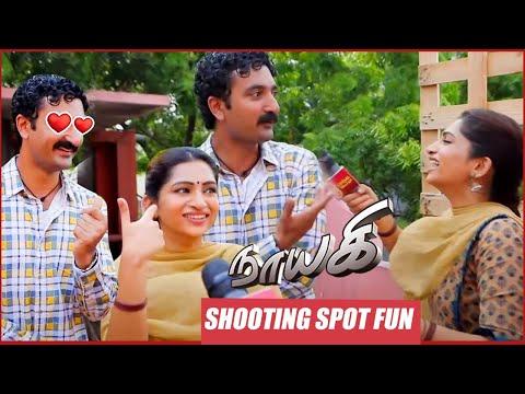 Naayagi Shooting Spot | Nakshathra Fun with Krishna | Behind the Scenes