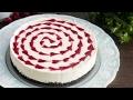 Bake White Chocolate Raspberry Cheesecake Recipe