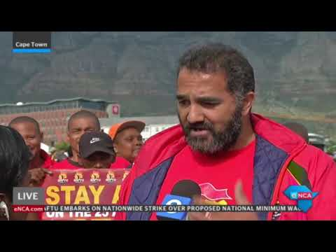 #SAFTUstrike in Cape Town