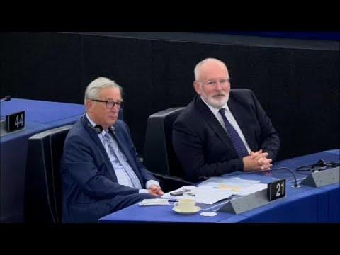 Διαξιφισμοί στο ευρωκοινοβούλιο μετά την ομιλία Γιούνκερ…