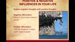 Lesson 5 Positive & Negative Influences in Your Life