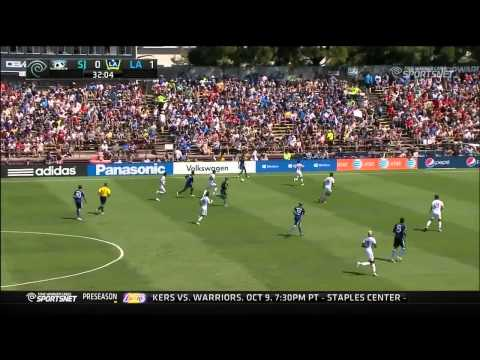 Video: LA Galaxy at San Jose Earthquakes | September 14, 2014 | Highlights
