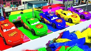 Video Learning Color Special Lightning McQueen and magic water box play for kids car toys MP3, 3GP, MP4, WEBM, AVI, FLV Februari 2019