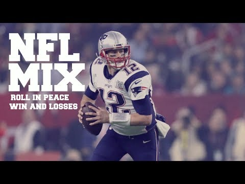 NFL PLAYOFF MIX roll in peace and win and losses
