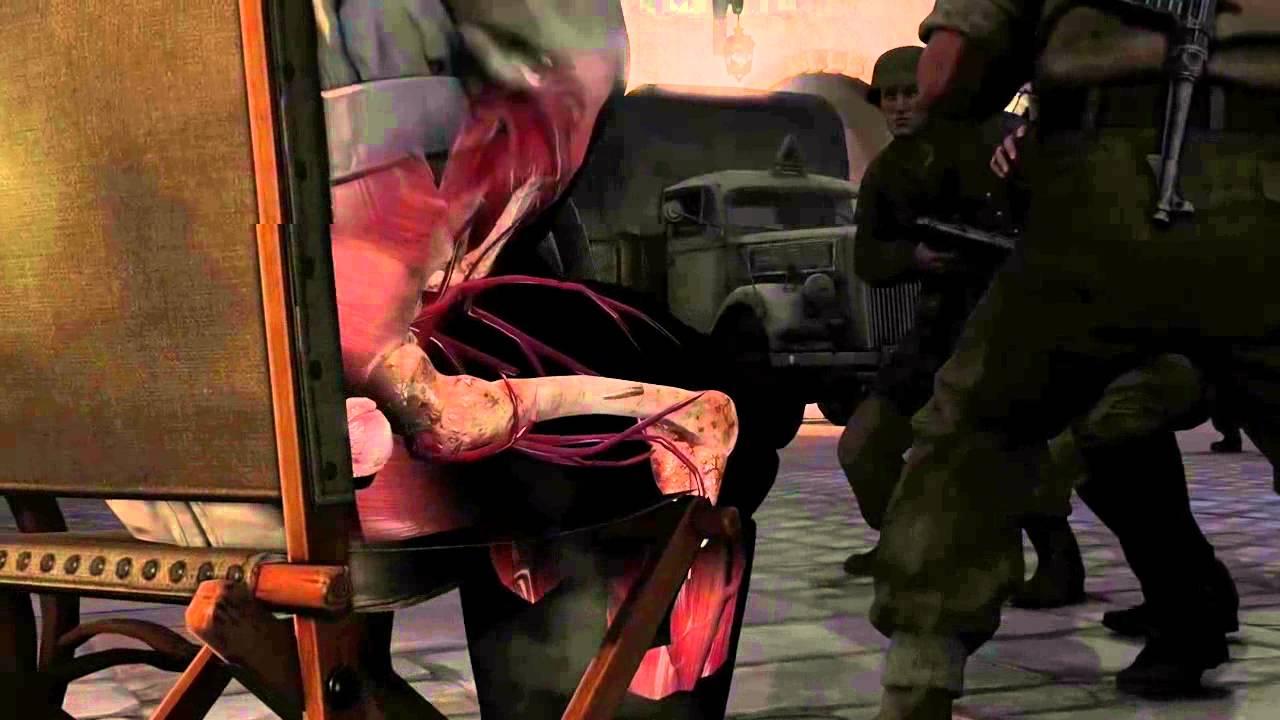 [Sniper Elite 3] Hitler's Balls Shot