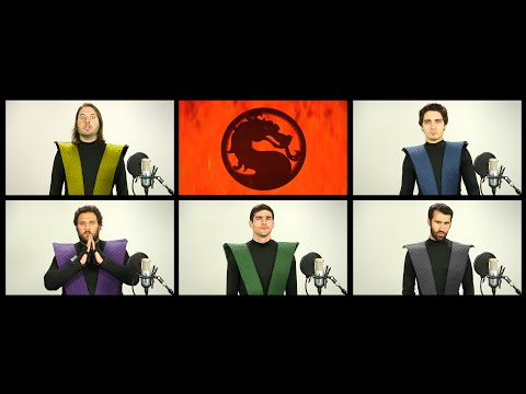 mortal kombat - theme song a capella