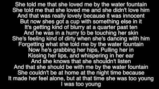 Water Fountain - By Alec Benjamin (Lyric Video)