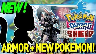 EPIC NEW SWORD AND SHIELD RUMOR! ARMOR, NEW POKEMON and MORE! by aDrive