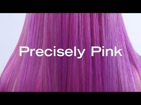 Precisely Pink  Urban Shock Pink Hair Color Transformation by Brittnie Garcia (@makeupbyfrances)