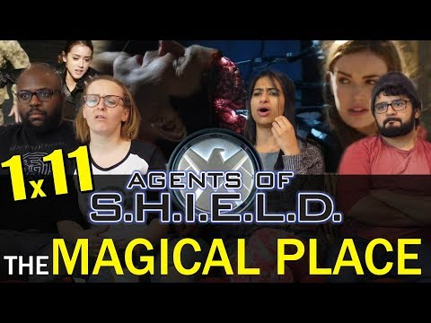 Agents Of Shield - 1x11 The Magical Place - Group Reaction
