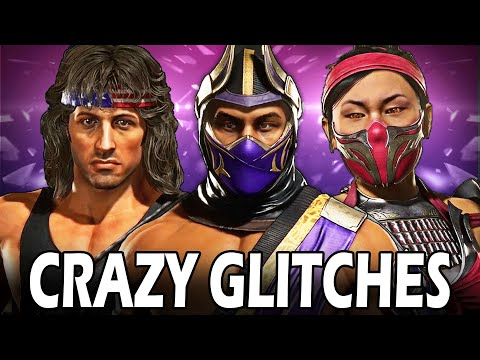 The Most CRAZY Glitches in Kombat Pack 2 - Mortal Kombat 11 Ultimate!