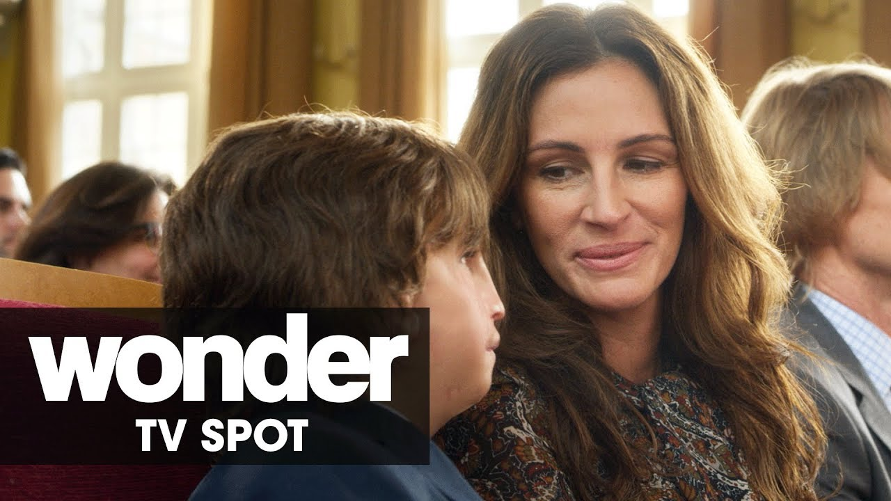 Kindness is Contagious. Jacob Tremblay was Born to Stand out in 'Wonder' (Clip) with Owen Wilson & Julia Roberts