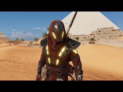 Assassin's Creed Origins (AC Origins) - How to Get Secret Isu Armor - Location & Showcase