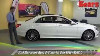 New 2015 Mercedes-Benz S-Class S550 4MATIC - Minnetonka, Minneapolis, Bloomington, MN
