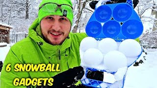 Video 6 Snowball Gadgets put to the Test MP3, 3GP, MP4, WEBM, AVI, FLV Maret 2018