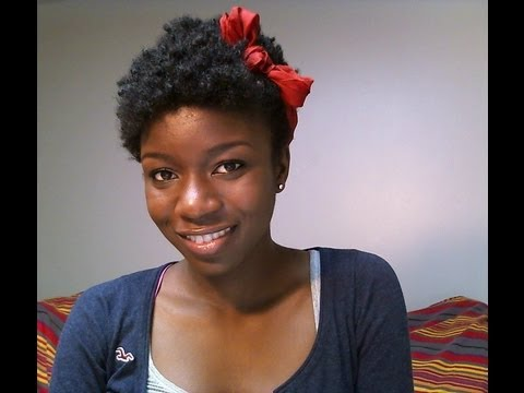Simple hairstyles for your TWA using just a headband