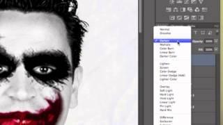 الجوكر تصميم جوكر جوكر دروس فوتوشوب فوتوشوب وجه الجوكر