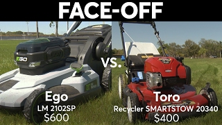 6. Gasoline & Electric Self-Propelled Mower Face-Off | Consumer Reports