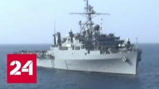 Десантный корабль Fort McHenry ВМС США отправился в Черное море — Россия 24
