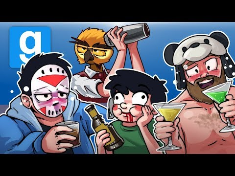 Gmod Ep. 69 DEATHRUN! - NEW YEARS EDITION! (Garry's Mod Funny Moments) (видео)