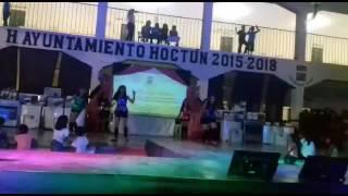 Baile rockstar coriografia hernan caro  hoctun yucatan dia de las madres