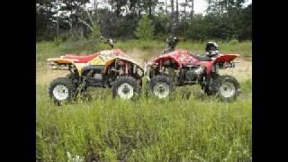 5. Polaris Scrambler 500 and Trailblazer 400 rippin around