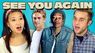 Nonton TEENS REACT TO SEE YOU AGAIN Film Subtitle Indonesia Streaming Movie Download