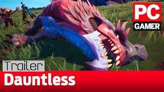 Город, броня и новый бегемот в трейлере Dauntless