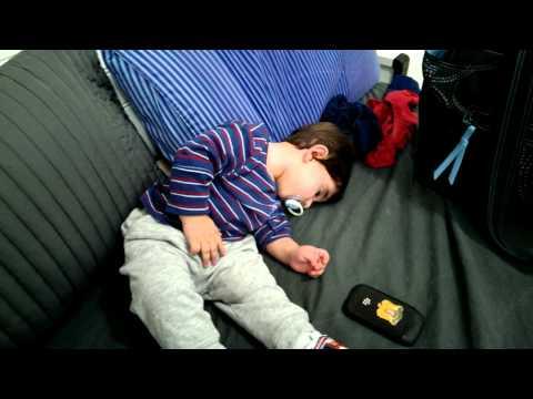 funny baby sleepy waseem