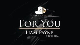 Video Liam Payne & Rita Ora - For You - Piano Karaoke / Sing Along / Cover with Lyrics MP3, 3GP, MP4, WEBM, AVI, FLV Mei 2018