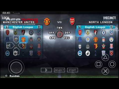 Pes 2018 Android, PSP In English With Commentary On PPSSPP