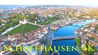 Schaffhausen Switzerland  city pictures gallery : Schaffhausen in Switzerland from above - Schaffhausen von oben