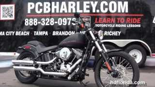 5. 2013 Harley Davidson Softail Blackline - New Motorcycles for sale *