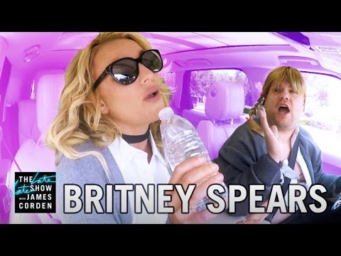 Carpool Karaoke with Britney Spears