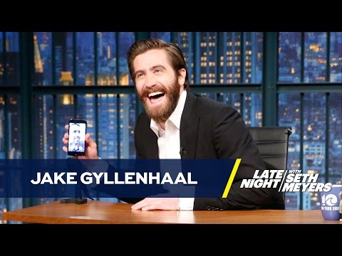 Jake Gyllenhaal and Ryan Reynolds FaceTime on Late Night, And It's Time To Give These Guys Their Own Talk Show