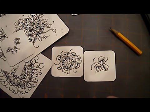 "How to Draw Tangle ""Rixty"" with Melinda Barlow, CZT"