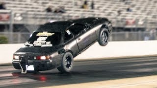 Double Power Wheelies, Tesla DOMINATION, & Chasing Records! by 1320Video