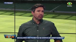 O técnico analisa os clubes brasileiros que estarão presentes na Libertadores, aposta em Santos e Palmeiras, e explica como...