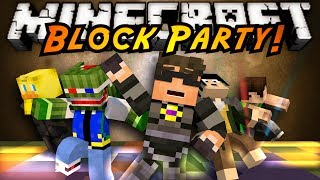 Minecraft Mini-Game : BLOCK PARTY!