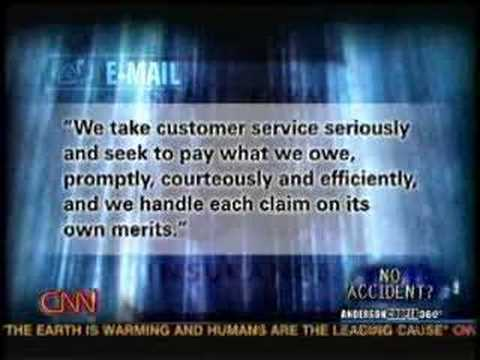 CNN 360 Anderson Cooper – Auto Insurance Part 1