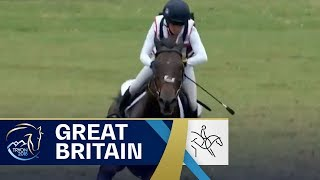 Team Great Britain sit in 1st place after Cross Country | Eventing | FEI World Equestrian Games 2018