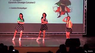 Download Lagu Orange Caramel - Lipstick Dance cover by Unique Mp3