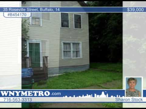 35 Roseville Street  Buffalo, 14 Homes for Sale | wnymetro.com