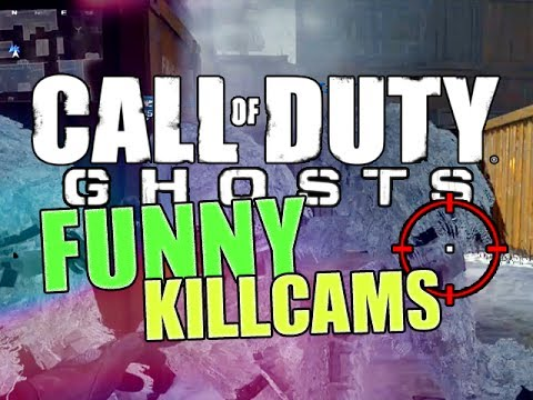 COD Ghost Funny KillCams (BEST Fails, Wins, & Funny Moments)