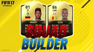 FIFA 17 Squad Builder - CHEAP OP BUNDESLIGA INFORM STRIKER! w/ SIF Gnabry + TIF Keita! ► Follow me on Twitter! http://twitter.com/HuttonPlays ► Check out my ...